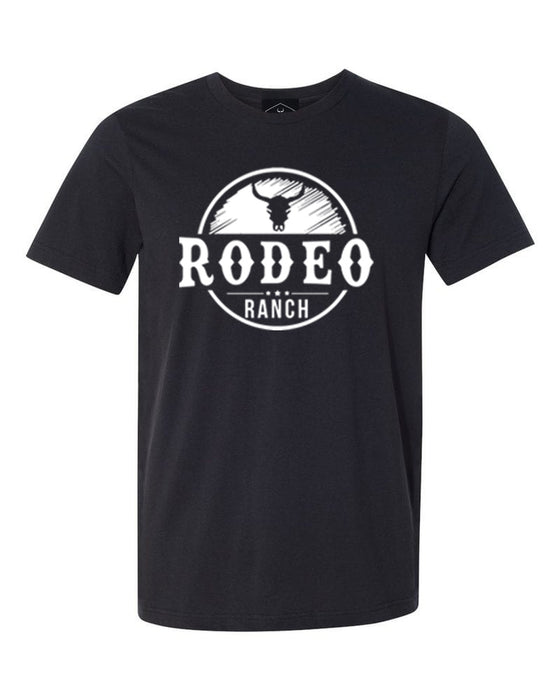 PLAYERA RODEO RANCH NEGRA