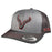 CACHUCHA Vexil Brand - Charcoal Icon - Charcoal/Heather Grey/Charcoal Mesh