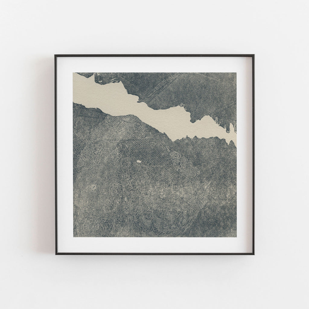 Riverbed Low Tide Print