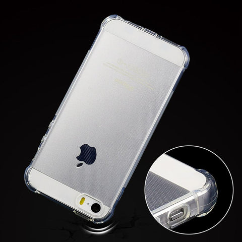 Transparent Silicone Case Cover For Iphone