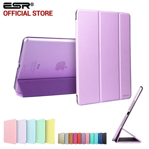 Leather Transparent Case for iPad mini 1 2 3
