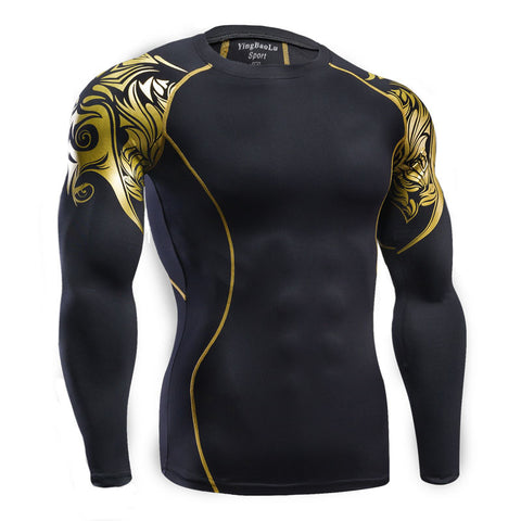 Long Sleeve Thermal Compression