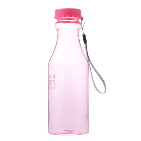 Unbreakable Plastic Water Bottle