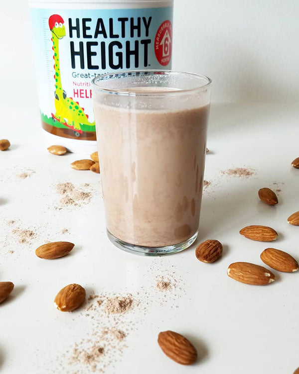 Homemade Chocolate Almond Milk (by Hannah @CaliforniaToddler)