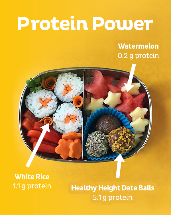 Healthy Height Protein Date Balls