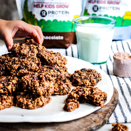 PB Trail Mix Breakfast Cookies