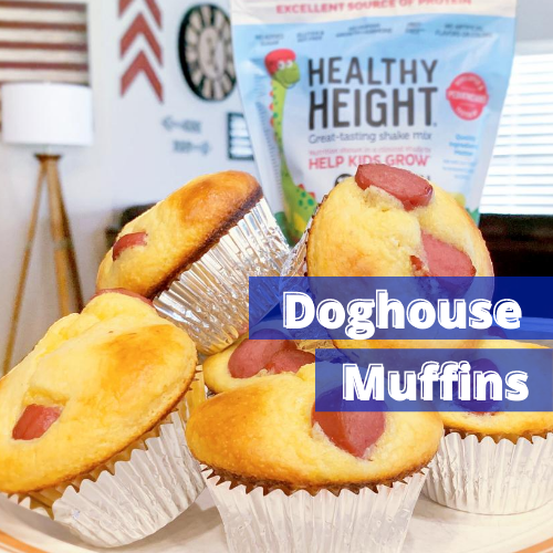 Doghouse Muffins, A New Spin on Classic Cornbread Muffins