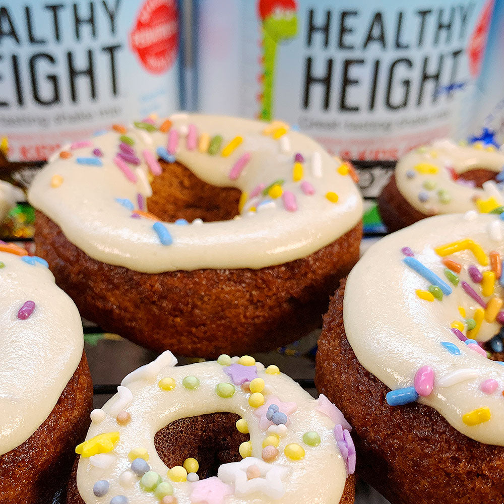 Healthy Height Double Duty Donuts