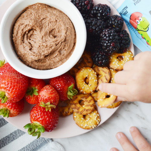 Protein-Packed Chocolate Hummus Dip