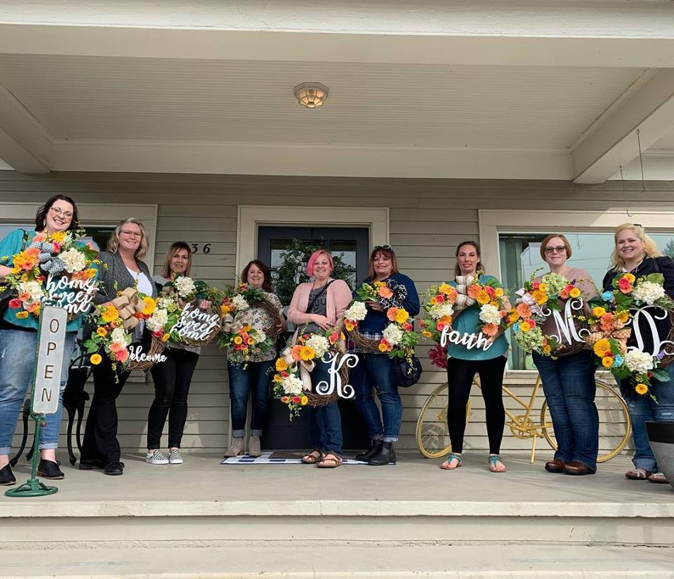 Spring Wreath Making Class 2019!