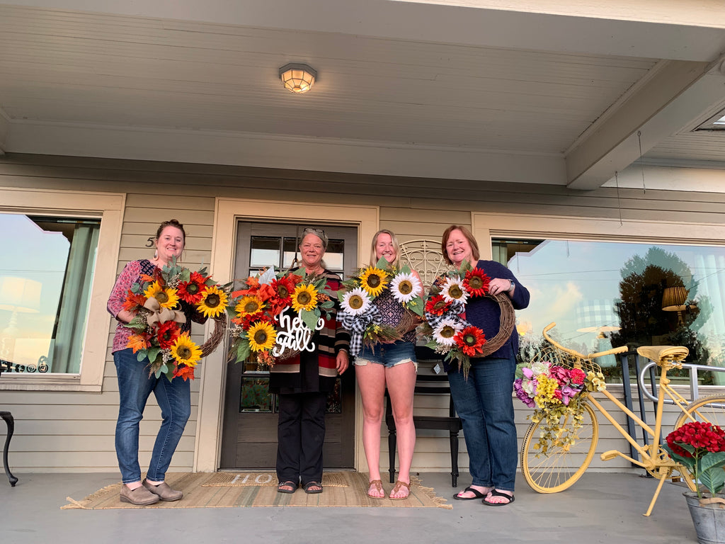 Fall Wreath Class 2019