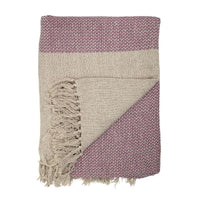 Soft Rose Throw