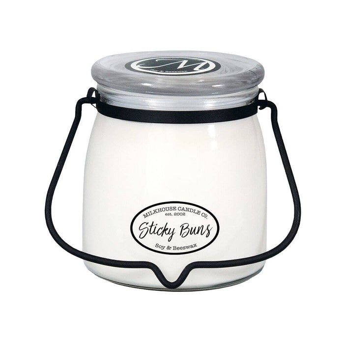 Milkhouse Candle Company - 16oz Sticky Buns Butter Jar Candle