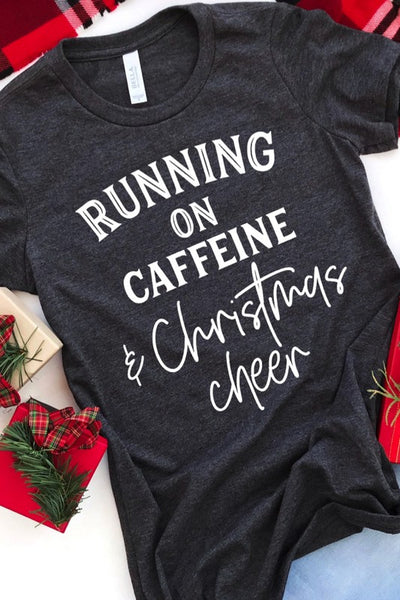 Running on caffeine and Christmas cheer!