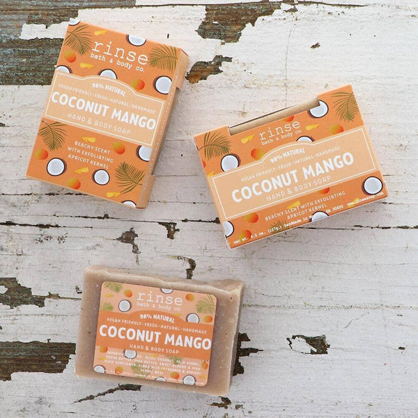 Rinse Bath Body Soap - Coconut Mango