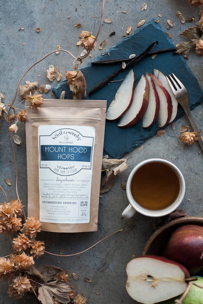 Winterwoods Tea Company - Mount Hood Hops Herbal Tea Blend