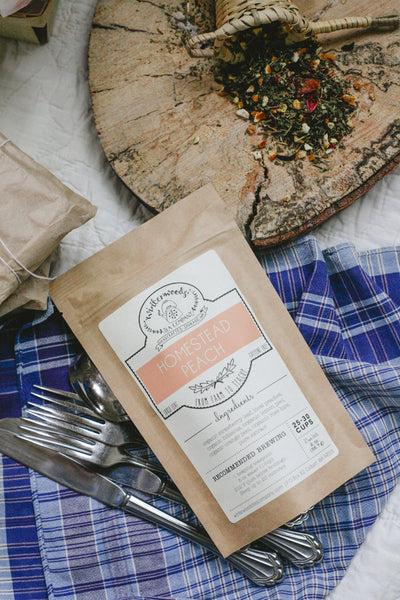 Homestead Peach Herbal Tea Blend