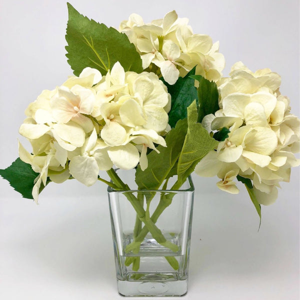 Floral Arrangements,Table Decor, House Warming, Hydrangea Table Arrangement