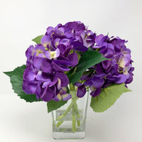 Floral Arrangements, Table Decor, House Warming, Hydrangea Table Arrangement