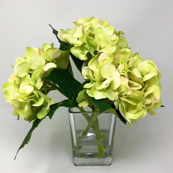 Floral Arrangements, Hydrangea Table Arrangement