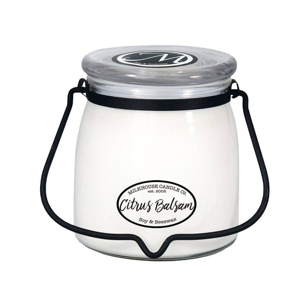 Milkhouse Candle Company - 16oz Citrus Balsam Butter Jar Candle