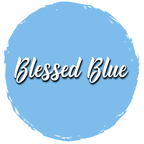 Blessed Blue Paint