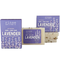 Rinse Bath Body Inc - Mini Soap - Lavender