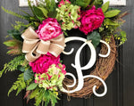 Spring Wreath for Front Door, Spring Wreaths for Front Door, Spring Door Wreath, Grapevine Door Wreath, Summer Wreaths