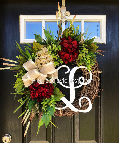 Front Door Wreath, Farm House Wreath, Fall Front Door Wreath, Year Round Wreath, Wreaths, Fall Wreaths, House Warming Gift, Autumn Wreaths
