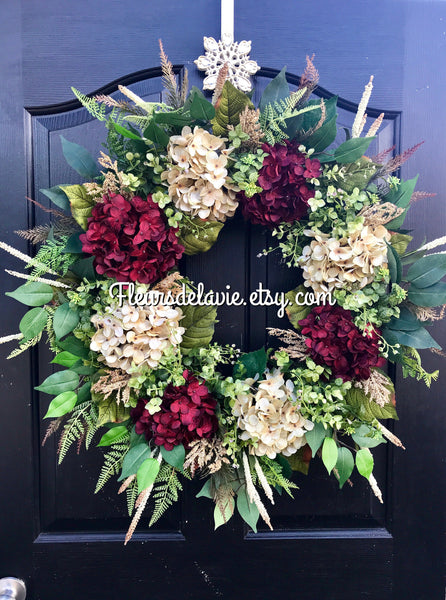 Front Door Wreath, Wreath for Door, Year Round Wreaths, Seasonal Decor, Interior Decor