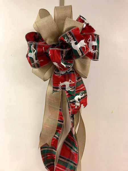 Christmas Tree Topper Christmas Tree Bow Topper For Tree Home