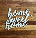 NEW! Home Sweet Home, Wood Sign, Wood Signs, Farm House Decor, Home Decor, House Warming, Interior Design