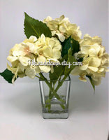 NEW! Farm House Arrangements, Wedding Decor, Wedding Arrangements, Farm House Decor, Table Decor, House Warming, Hydrangea Table Arrangement
