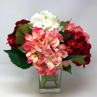 Table Decor, Flower Bouquet, Hydrangea Arrangement