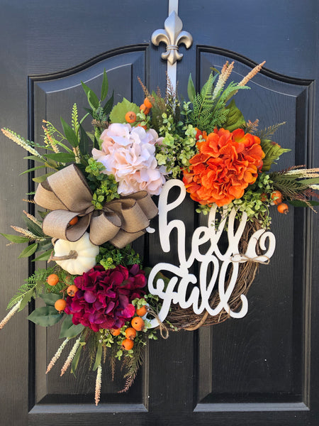 Fall Wreaths, Gift, Autumn Door Wreaths, Front Door Wreaths