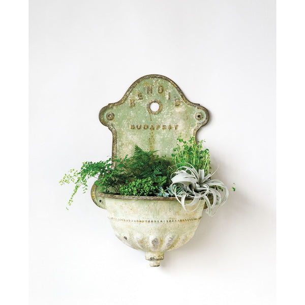 Vintage Wall Water Fountain