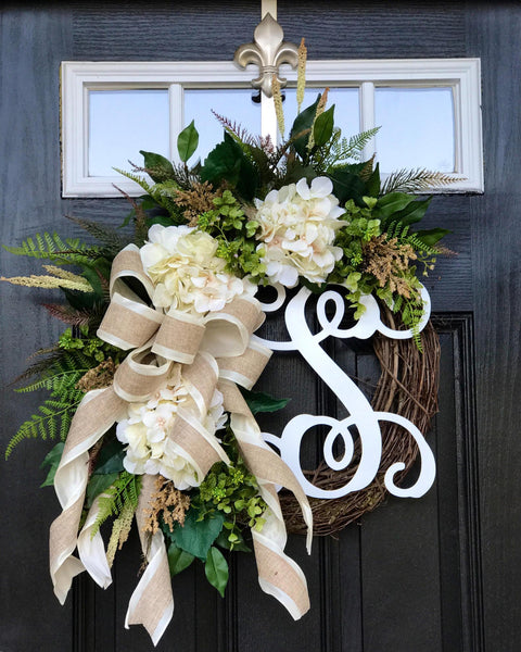Farm House Wreath for Door