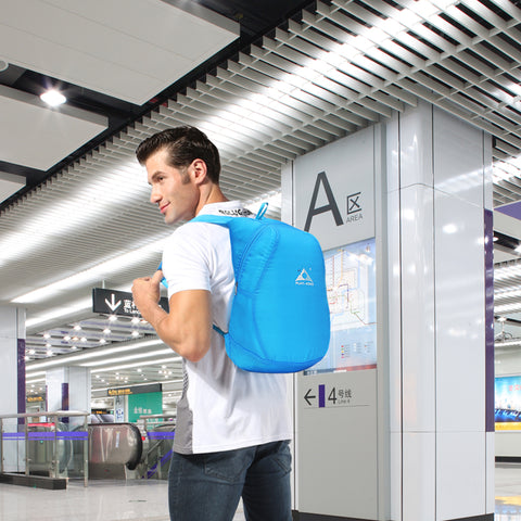 Foldable Compact Backpack - Travel Worldwide Shop