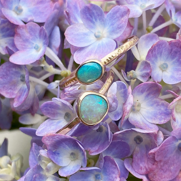 Ancients Matte Opal Ring | Size 7.25