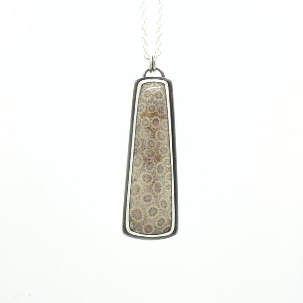 Grand Fossilized Coral Necklace