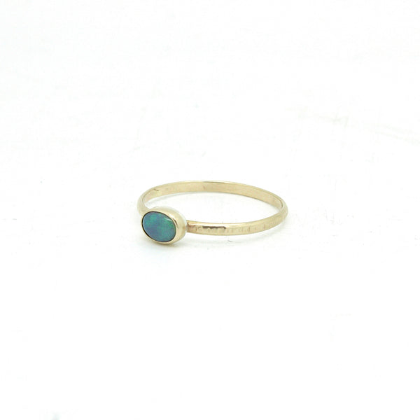 Tiny Opal Ring | Size 7.75