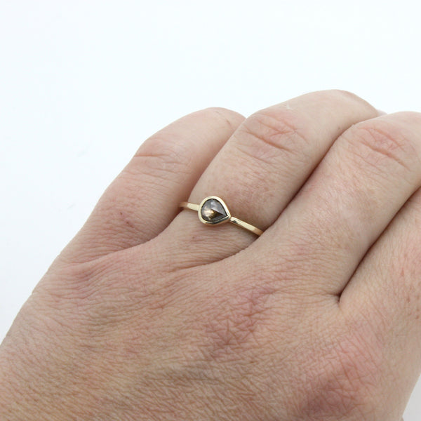 Champagne Diamond Ring | Size 7.25