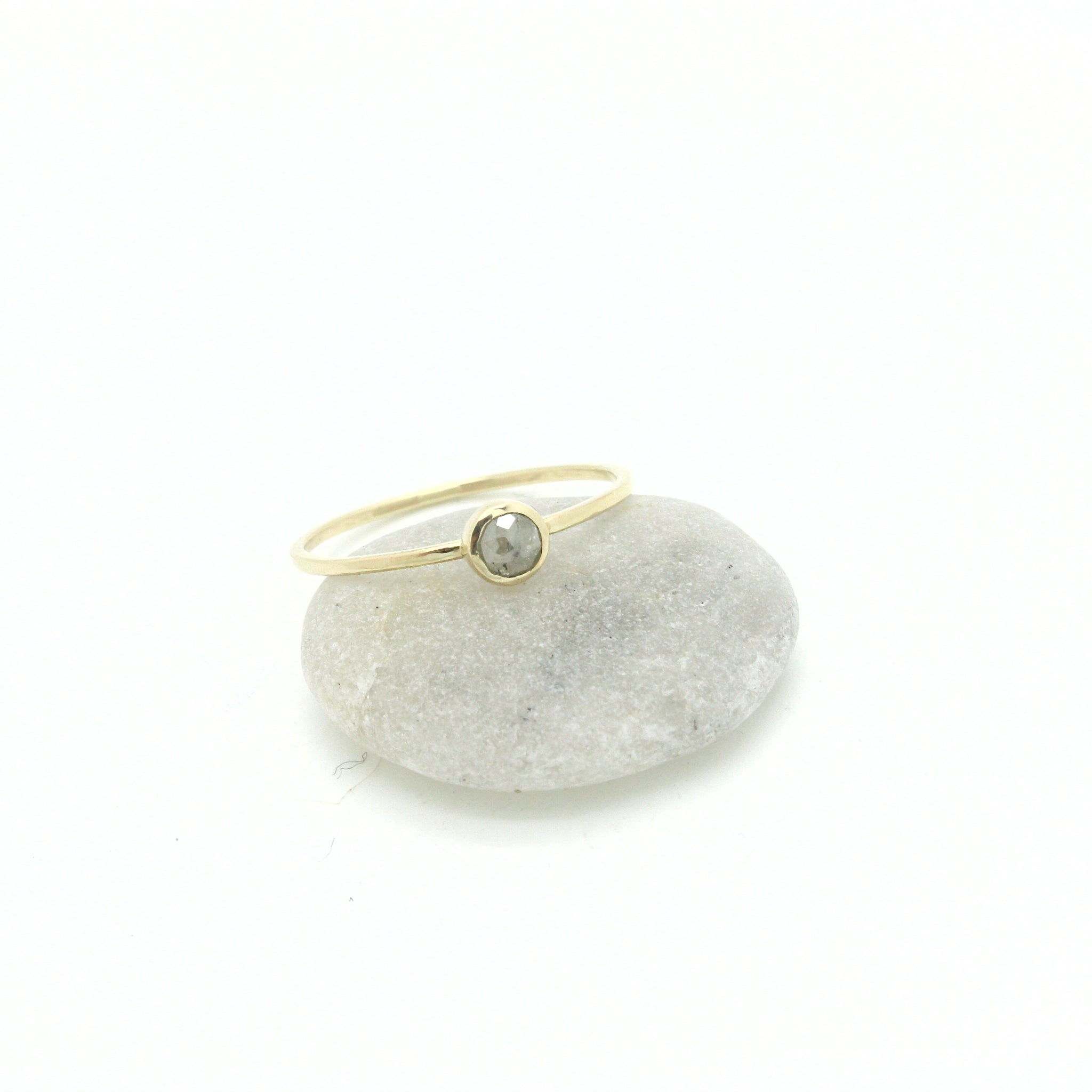 Petite Icy Diamond Ring | Size 8