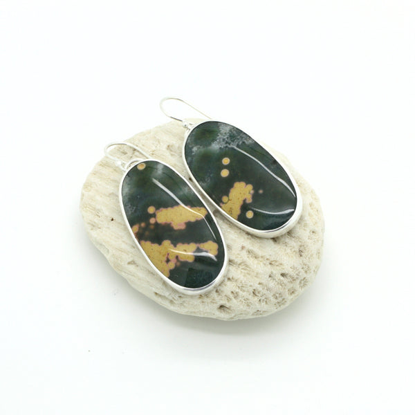 Grand Ocean Jasper Earrings
