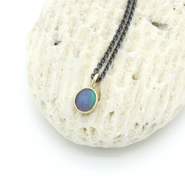 Ancients Matte Opal Necklace