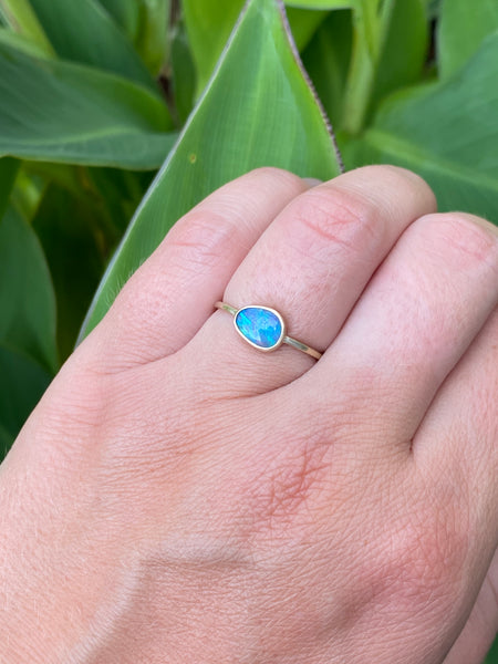 Little Opal Ring | Size 7