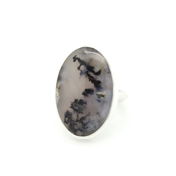 Grand Dendritic Agate Ring  | Size 7.75