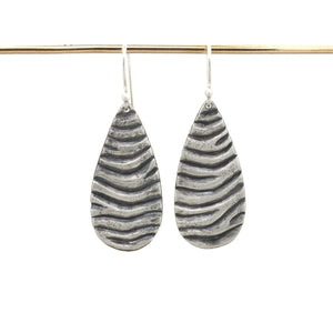 Medium Tidal Teardrop Dangles