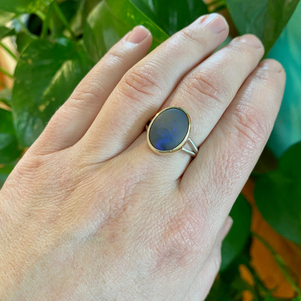 Ancients Matte Opal Ring | Size 7.5