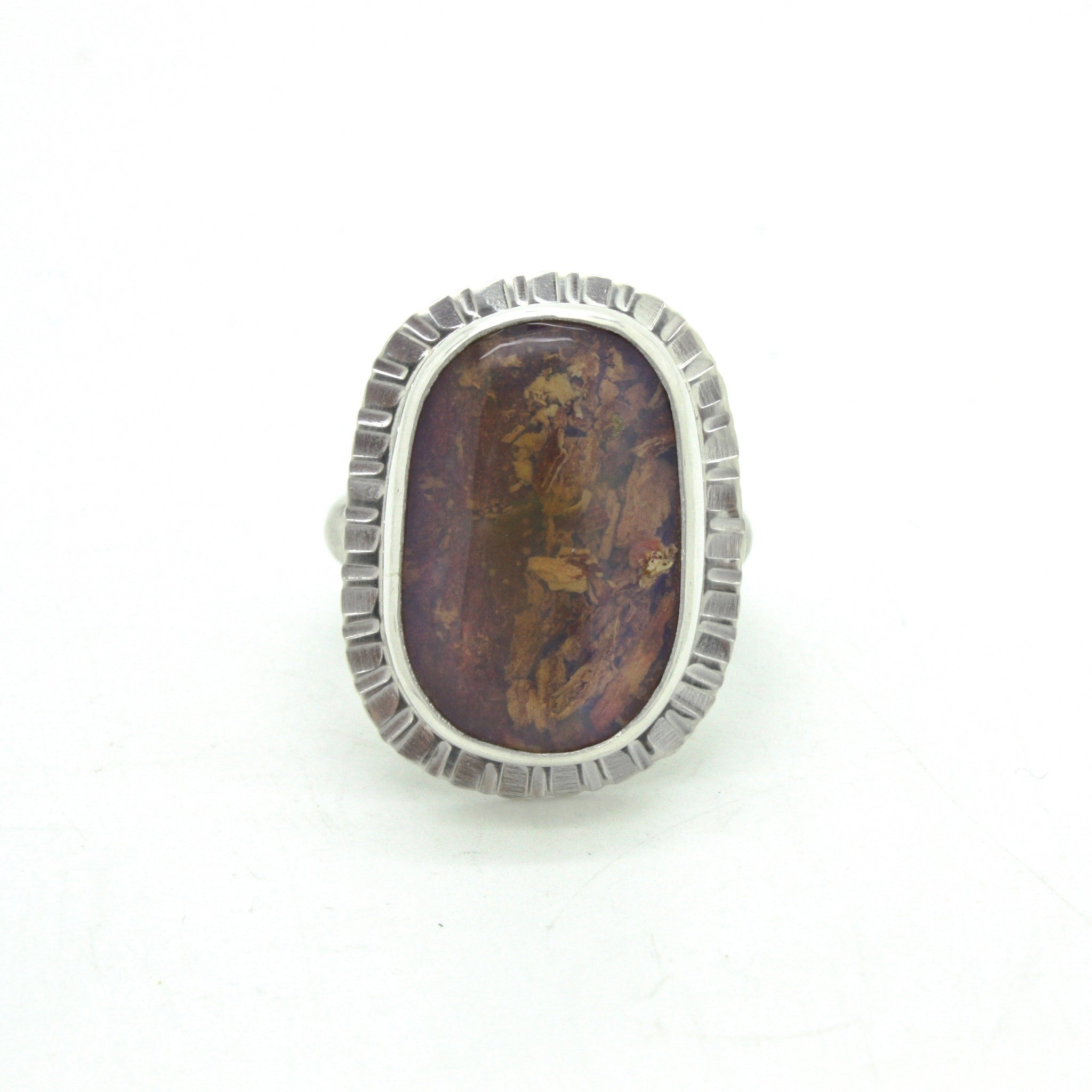 Wood Replacement Opal Ring | Size 8.5